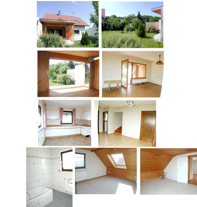 Teilrenoviertes Einfamilienhaus südwestlich von Memmingen