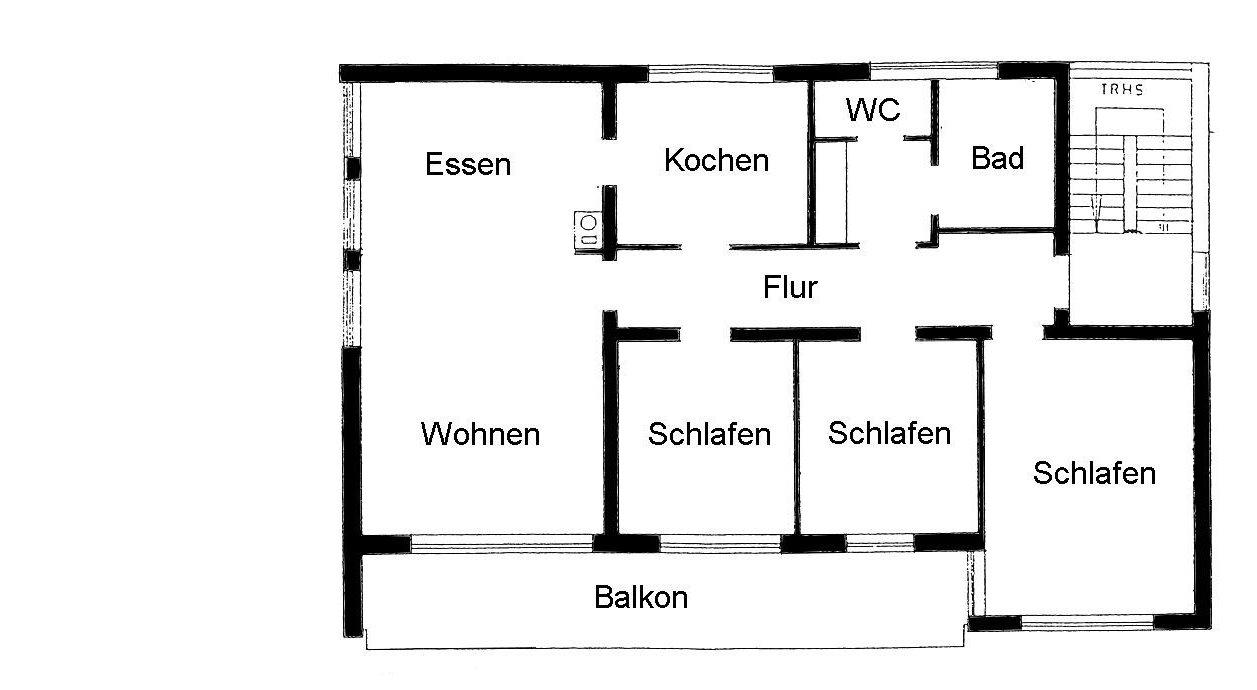 Sonnige und geraeumige 4 zimmer wohnung in kirchdorf for 4 zimmer wohnung gottingen