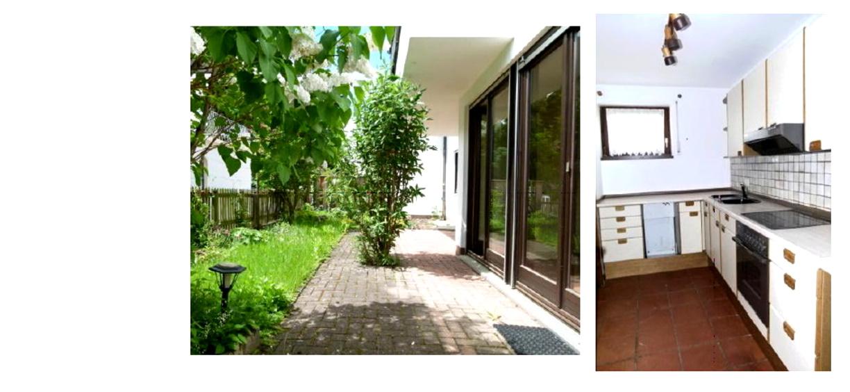 Gepflegte 4-Zimmer-Wohnung mit kleinem Garten in Memmingen