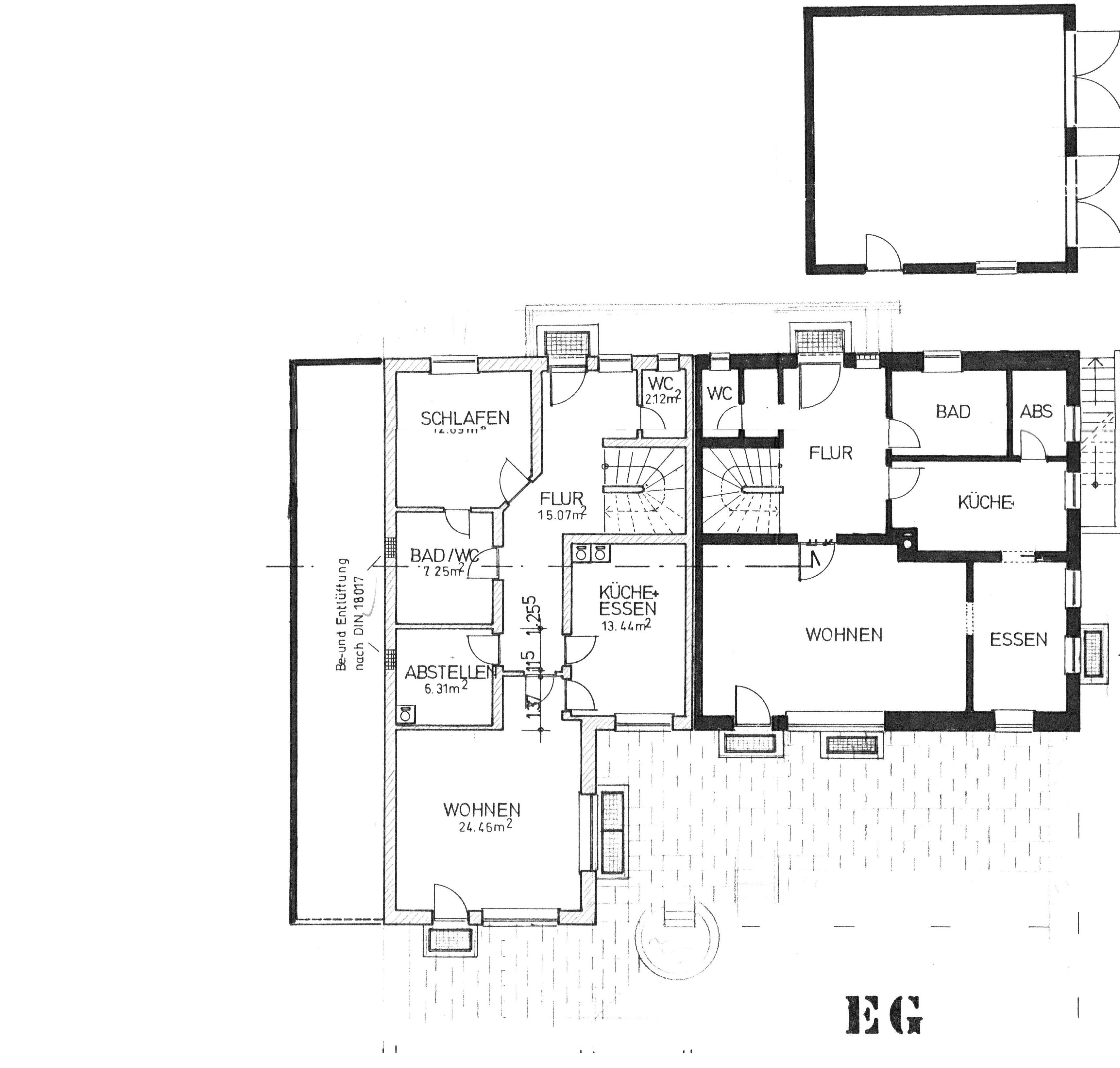 Geraeumiges Doppelhaus In Ruhiger Lage Von Ottobeuren-Ortsteil