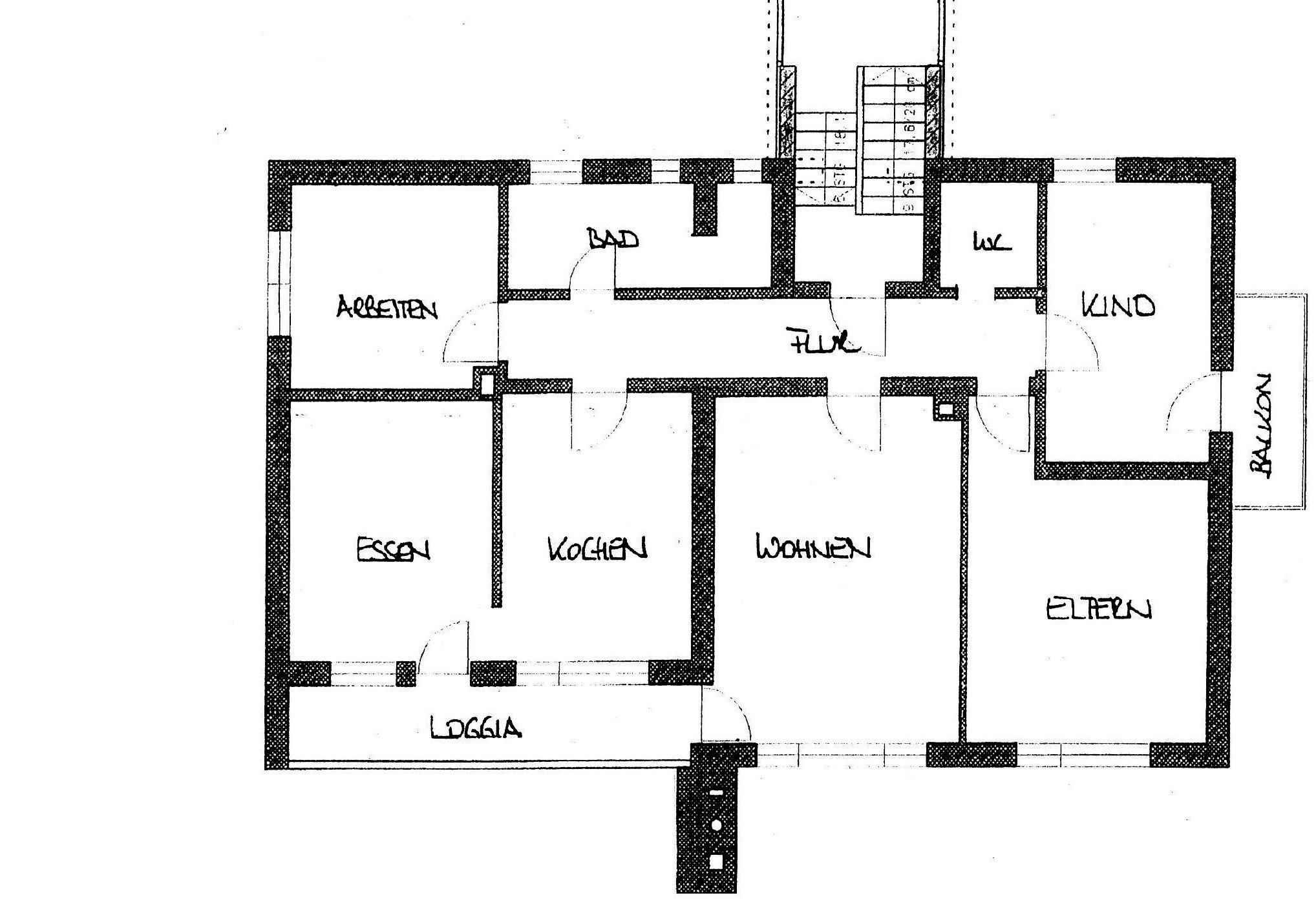 Einfamilienhaus Grundriss (Verweis)